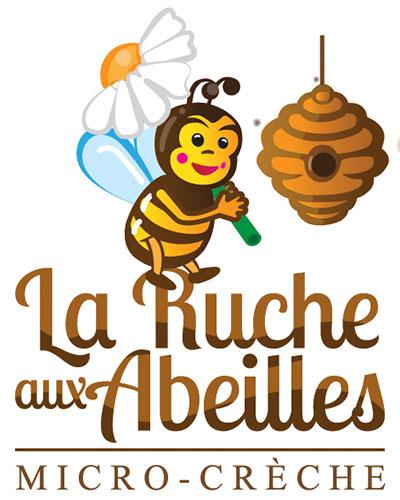 logo la ruche aux abeilles